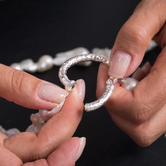 personalizzazione gioielli perle
