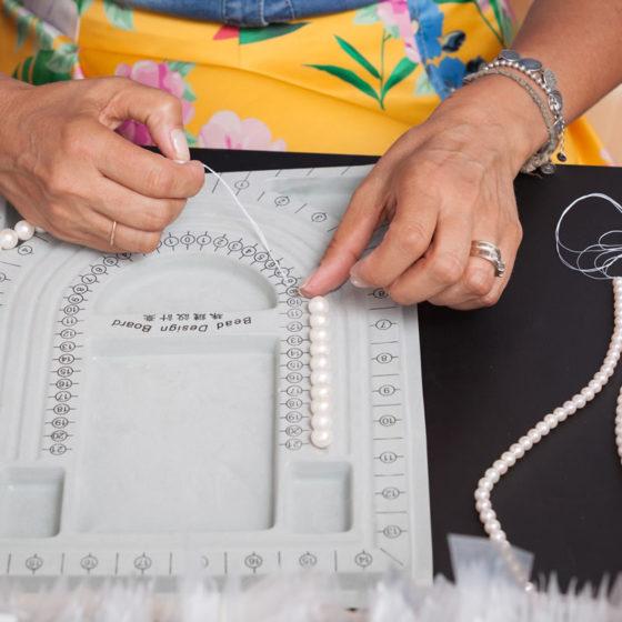 gioielli su misura con perle