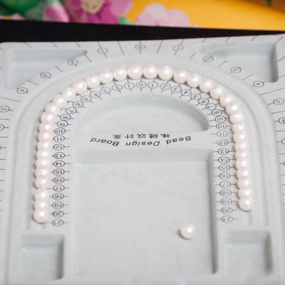 gioielli di perle su misura