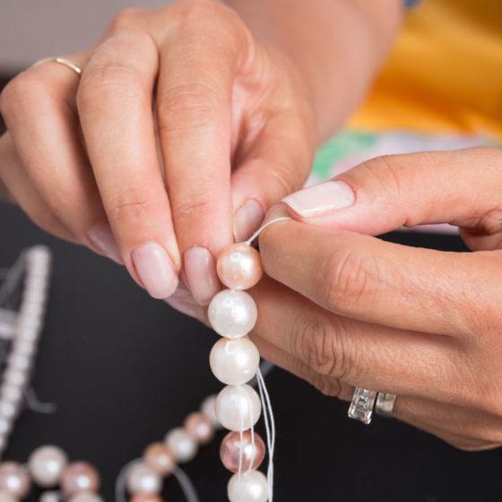 gioielli di perle personalizzati