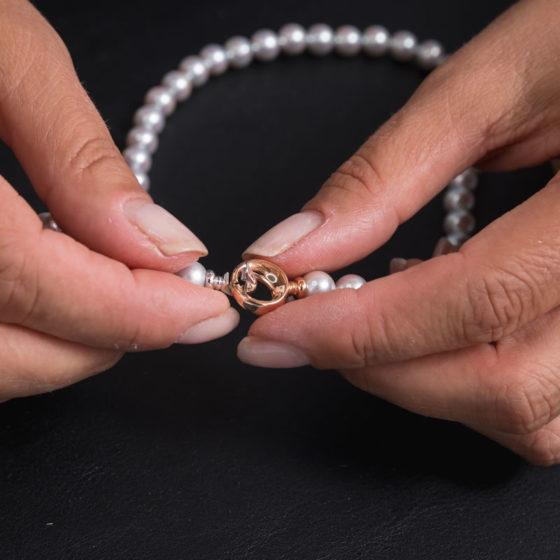 personalizzazione gioielli con perle
