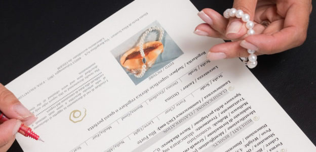 valutazione perle certificato gemmologico