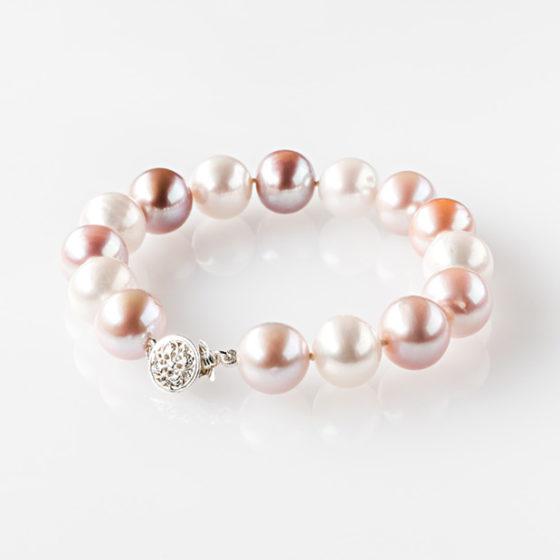 Bracciale perle multicolor