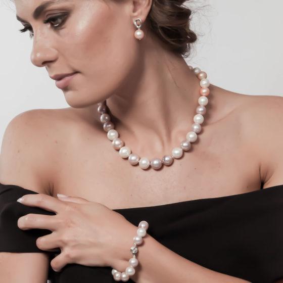 Orecchini con perle: Giove