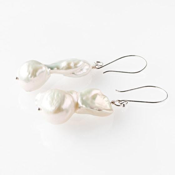 Orecchini di perle barocche pendenti