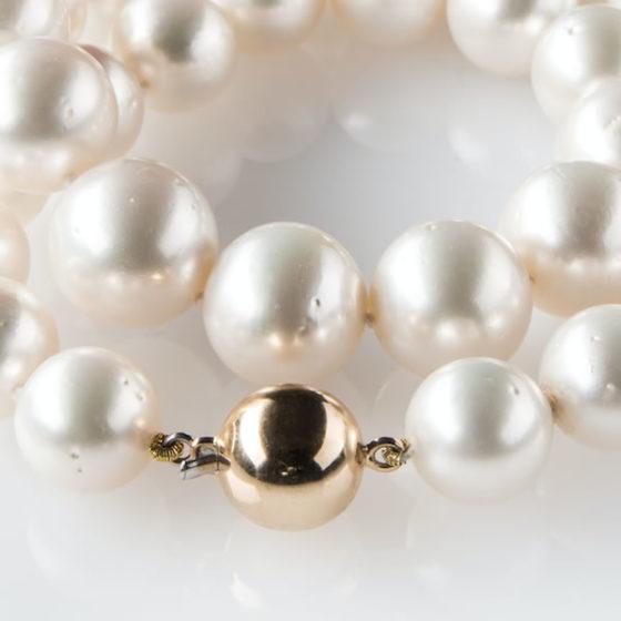 Perle australiane collana