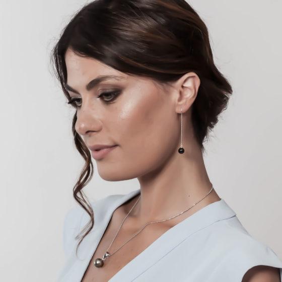 Perle Tahiti orecchini: Queen